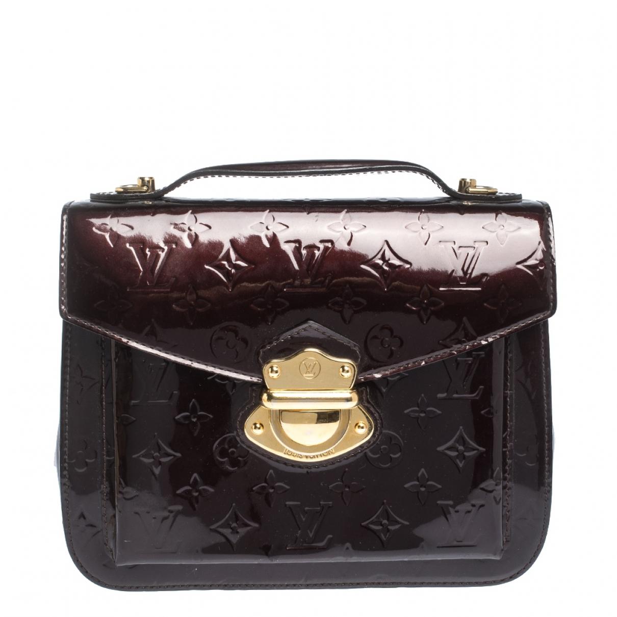 Louis Vuitton Mirada Patent leather handbag for Women N