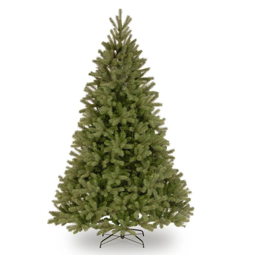 7.5' Downswept Fir Artificial Christmas Tree - Unlit - 7.5 Foot (Green)