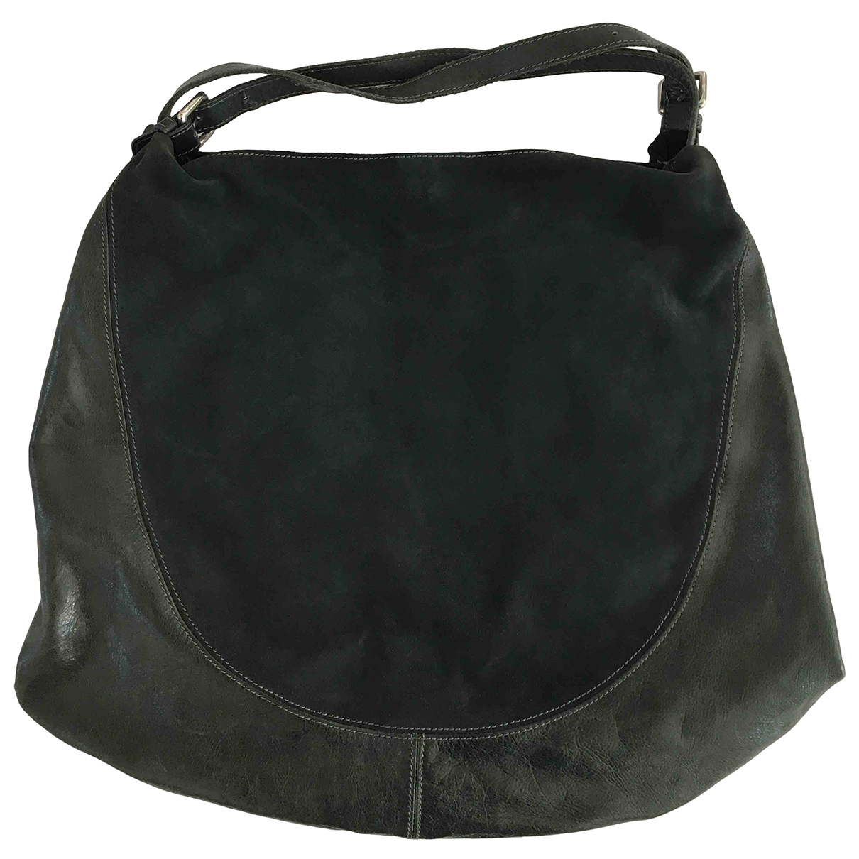 Gianni Chiarini \N Green Pony-style calfskin handbag for Women \N