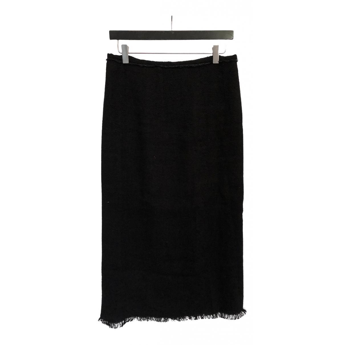 Isabel Marant N Black Linen skirt for Women 38 FR