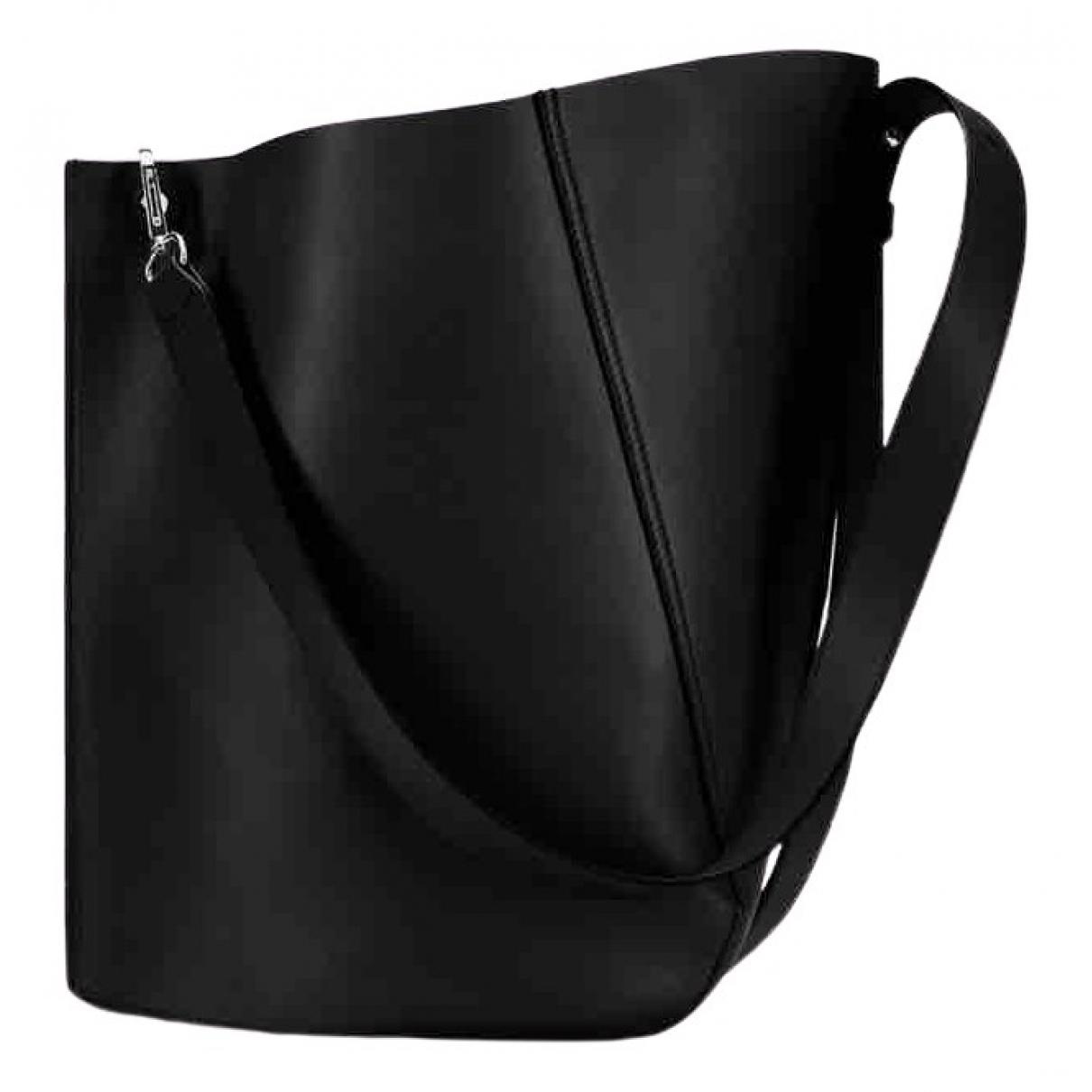 Lanvin - Sac a main   pour femme en cuir - noir