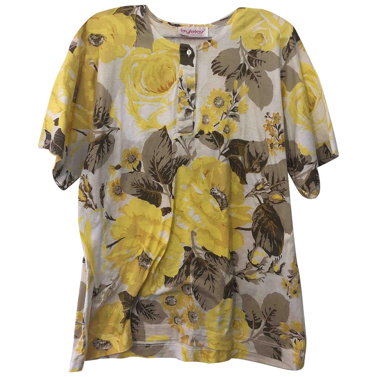Byblos - Top   pour femme en coton - multicolore