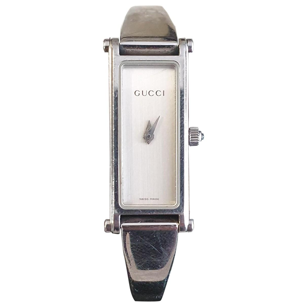 Gucci - Montre   pour femme en argent - argente