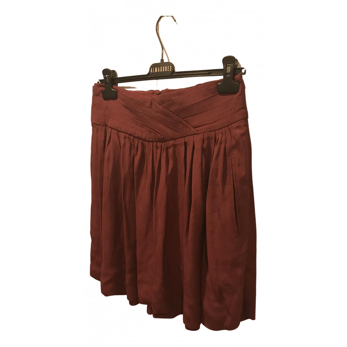 Comptoir Des Cotonniers N Burgundy skirt for Women 38 FR