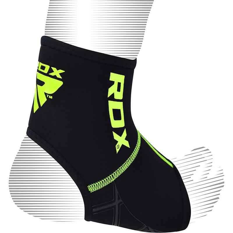 RDX A2 Support de bracelet de cheville vert Petite/Moyenne Vert Neoprene