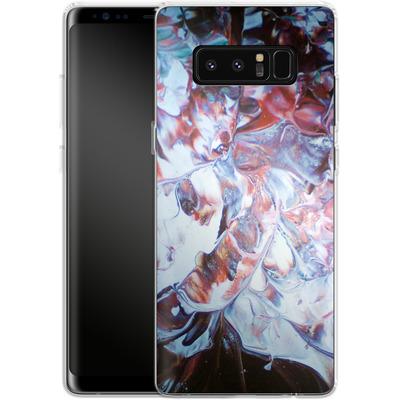 Samsung Galaxy Note 8 Silikon Handyhuelle - Macro 3 von Gela Behrmann