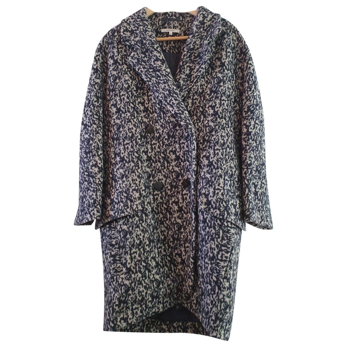 Carven \N Grey Wool coat for Women 38 FR
