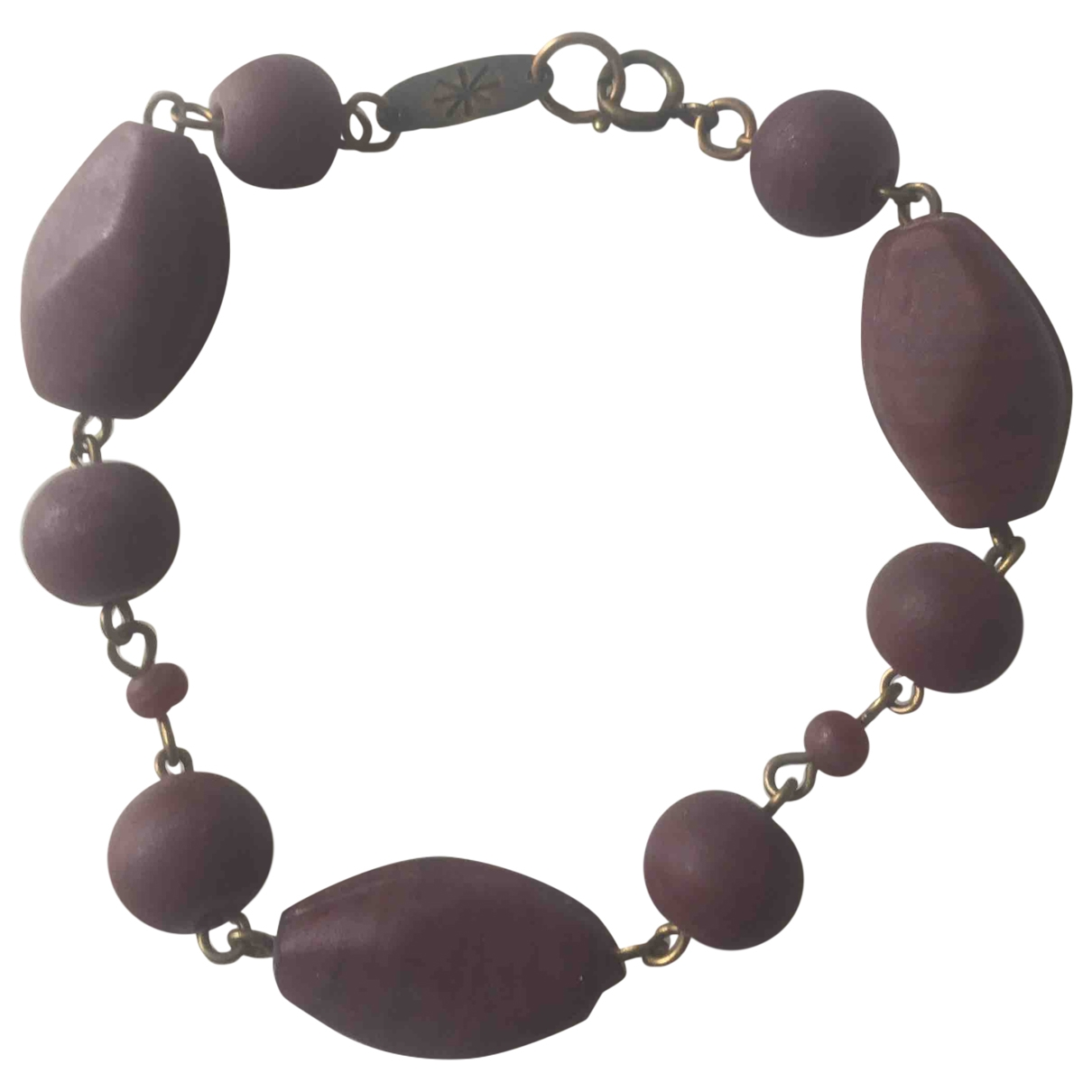 Isabel Marant \N Armband in  Bordeauxrot Metall