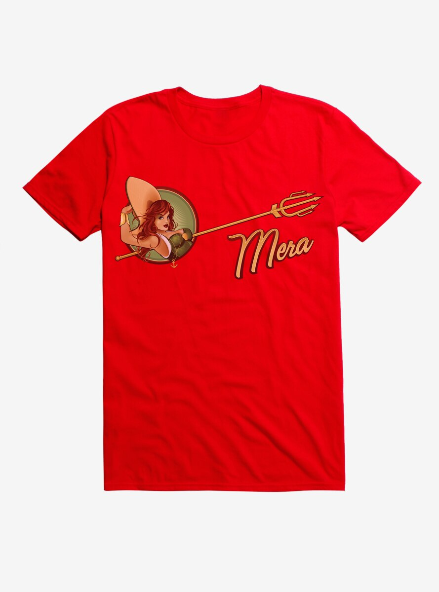 DC Comics Mera Circle T-Shirt