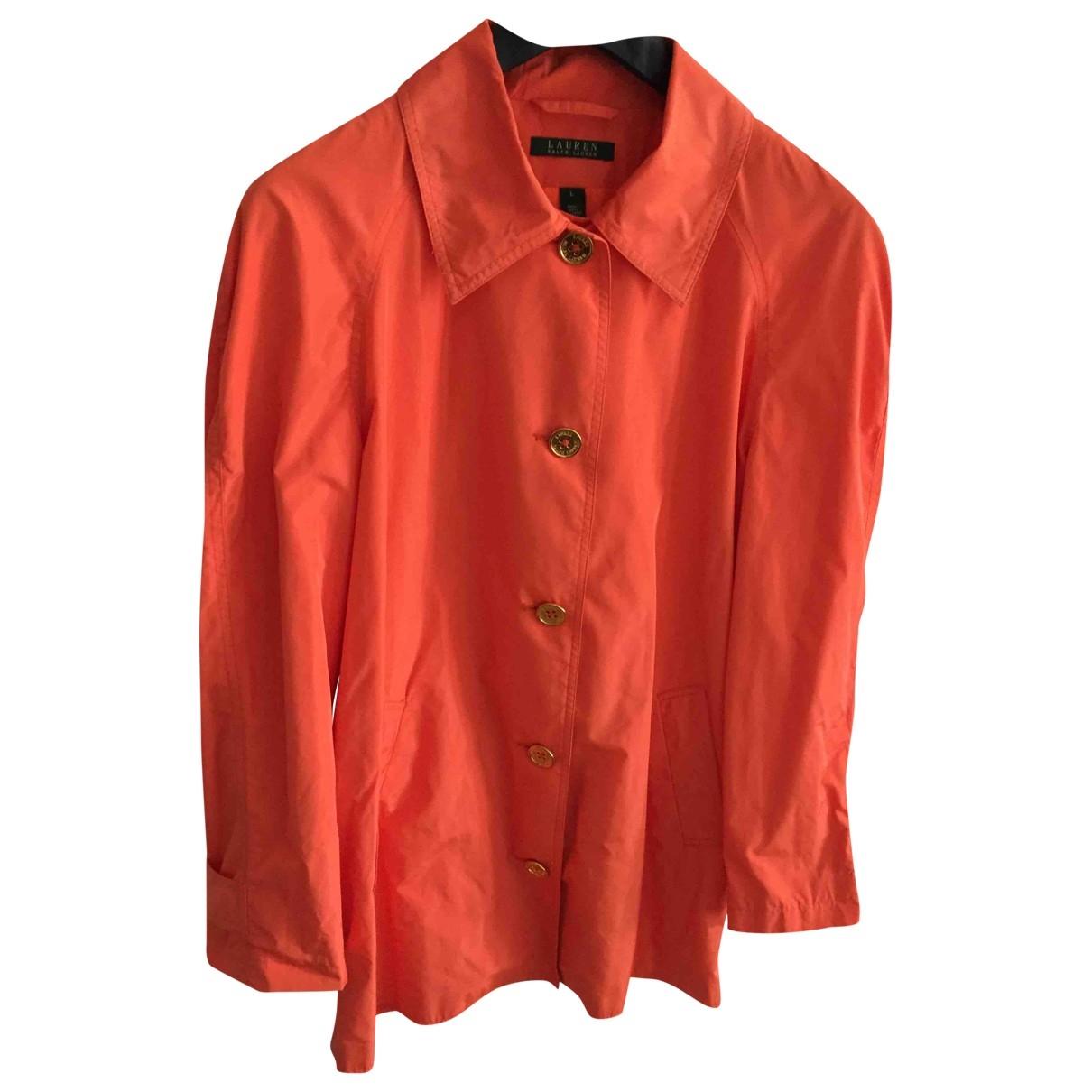 Lauren Ralph Lauren \N Jacke in  Orange Polyester