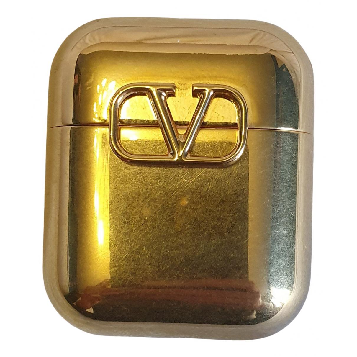 Valentino Garavani \N Accessoires in  Gold Metall