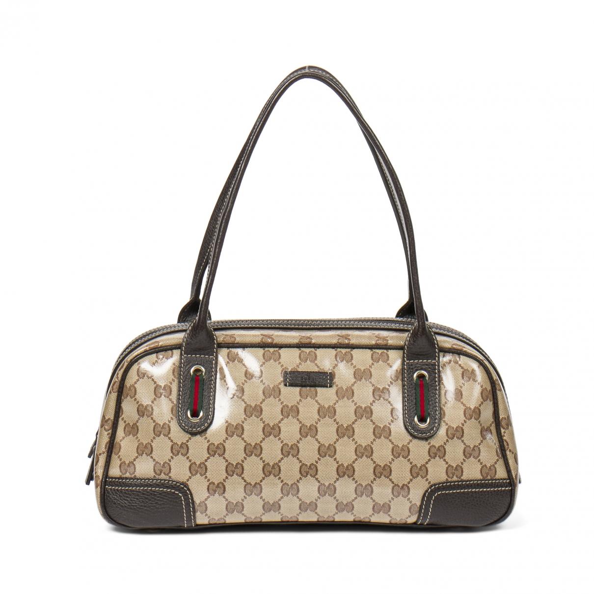Gucci Boston Brown handbag for Women \N