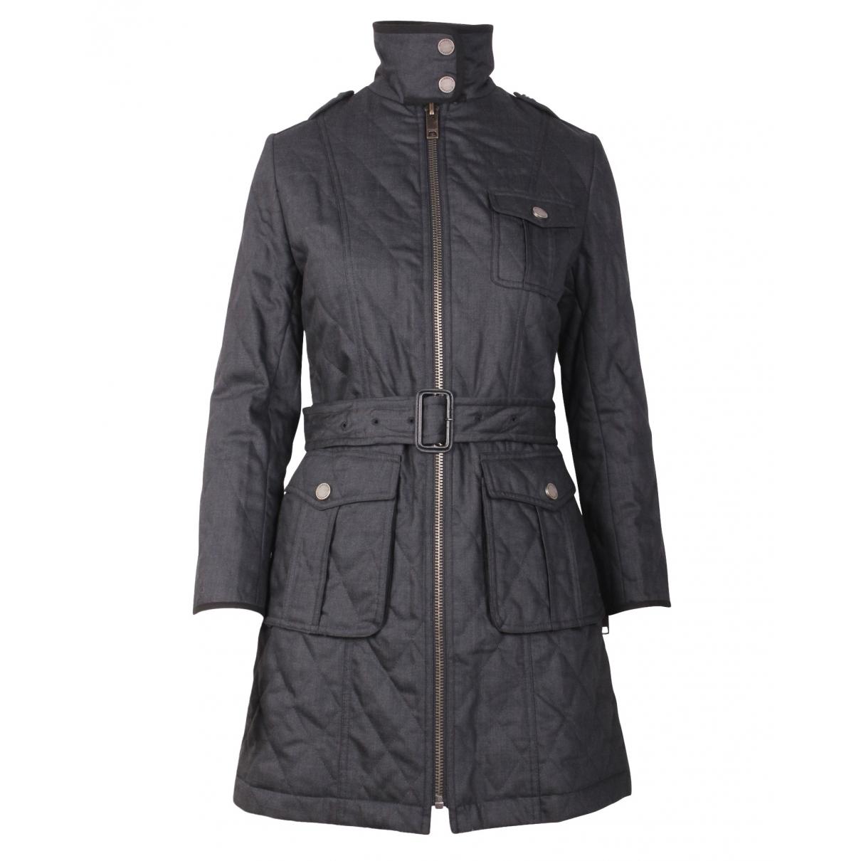 Burberry \N Grey coat for Women 36 FR