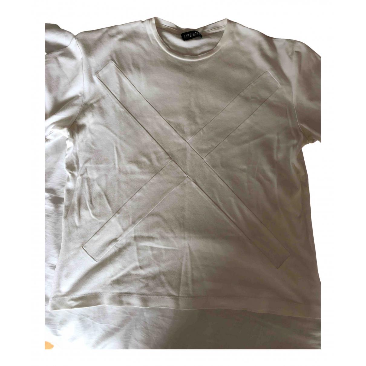 Raf Simons - Top   pour femme en coton - blanc