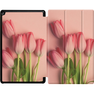 Amazon Fire HD 10 (2018) Tablet Smart Case - Pink Tulips von Joy StClaire