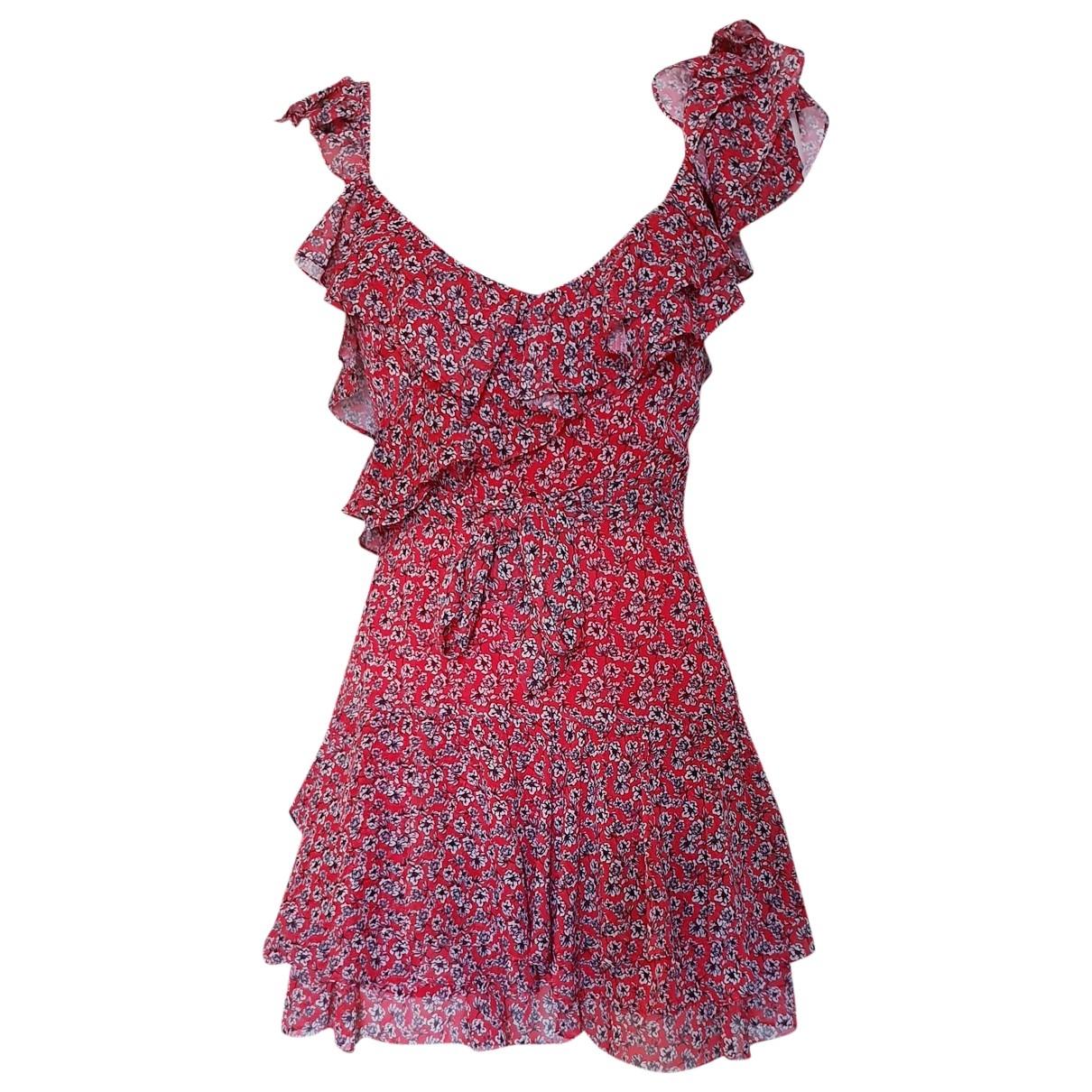 Marissa Webb \N Kleid in  Rot Polyester