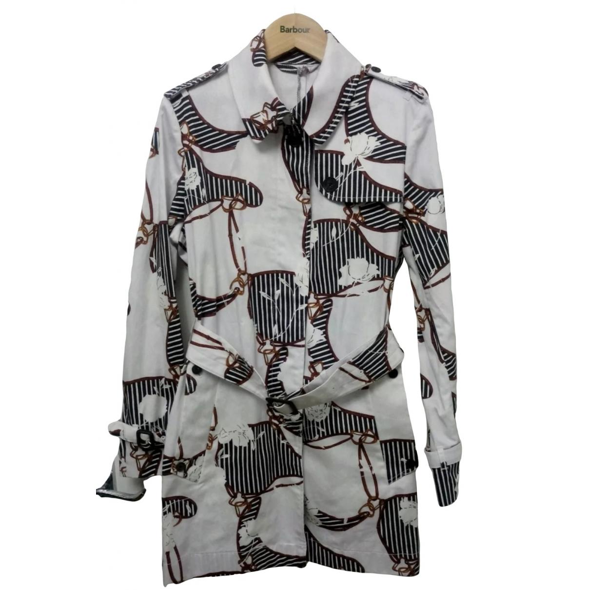 Aquascutum \N Multicolour Cotton Trench coat for Women 10 UK