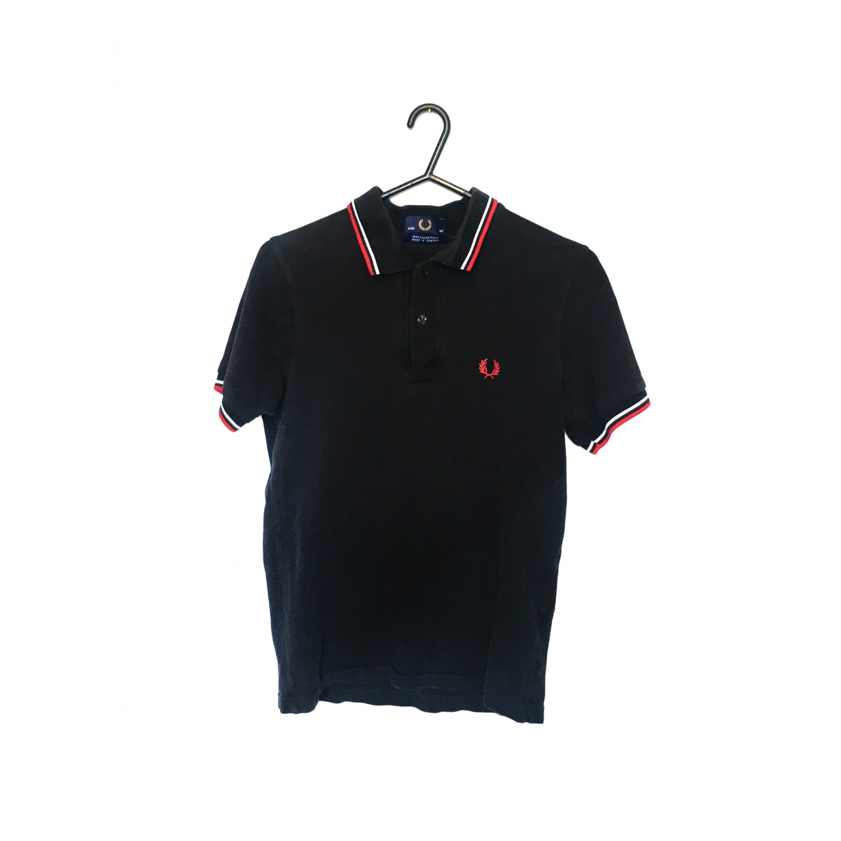 Fred Perry \N Poloshirts in  Schwarz Baumwolle