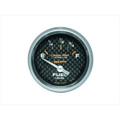 Auto Meter Carbon Fiber Electric Fuel Level Gauge - 4714
