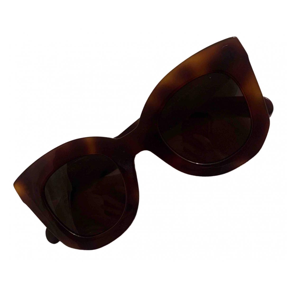 Celine Marta Brown Sunglasses for Women \N