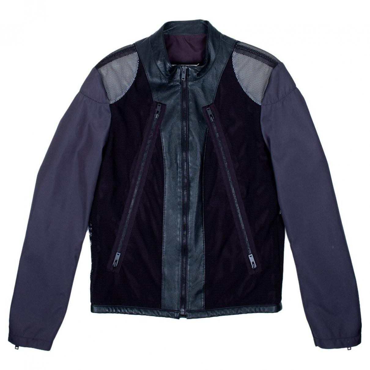 Maison Martin Margiela \N Black Cotton jacket  for Men 48 IT