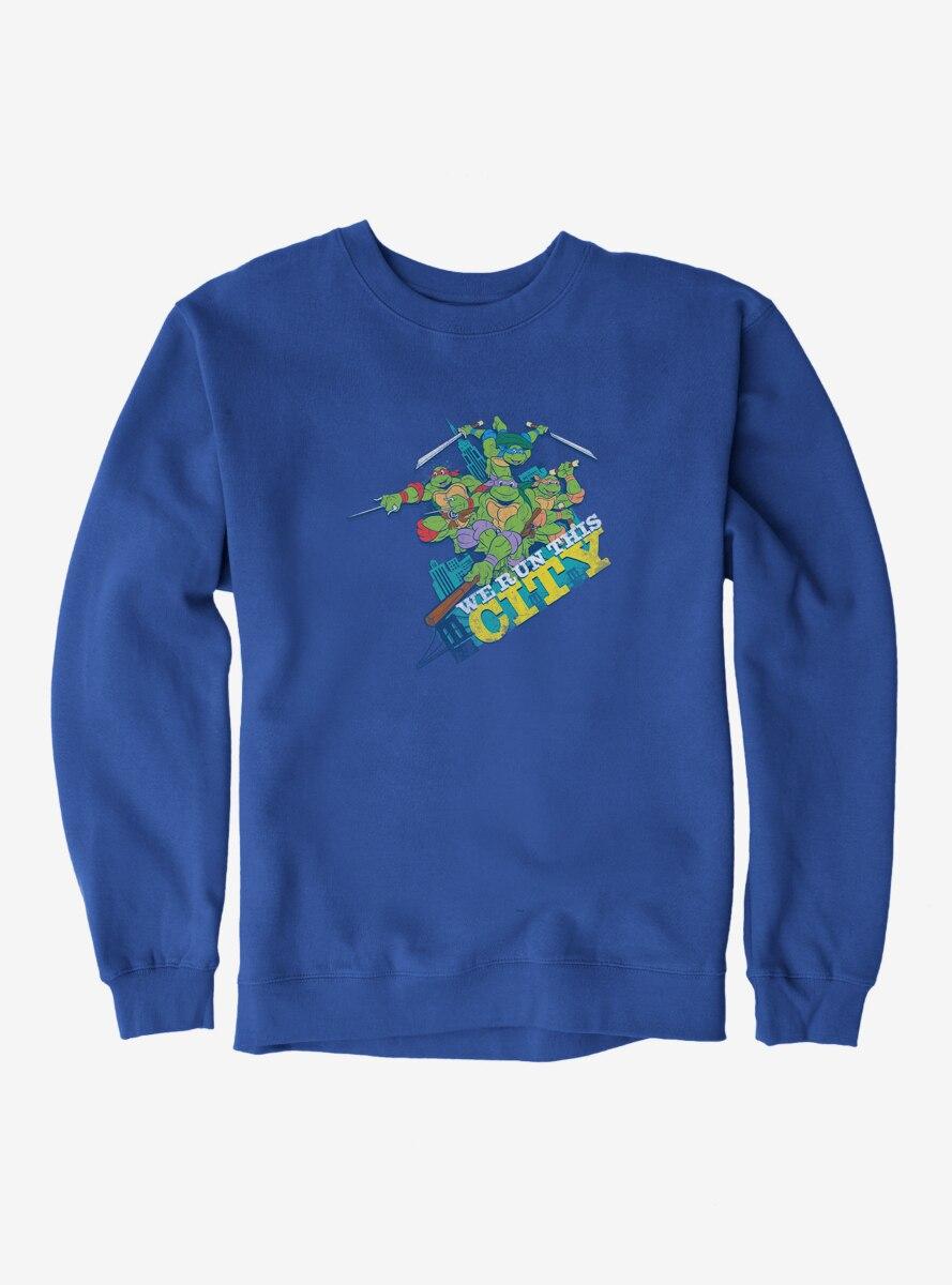 Teenage Mutant Ninja Turtles Group Pose We Run This City Sweatshirt