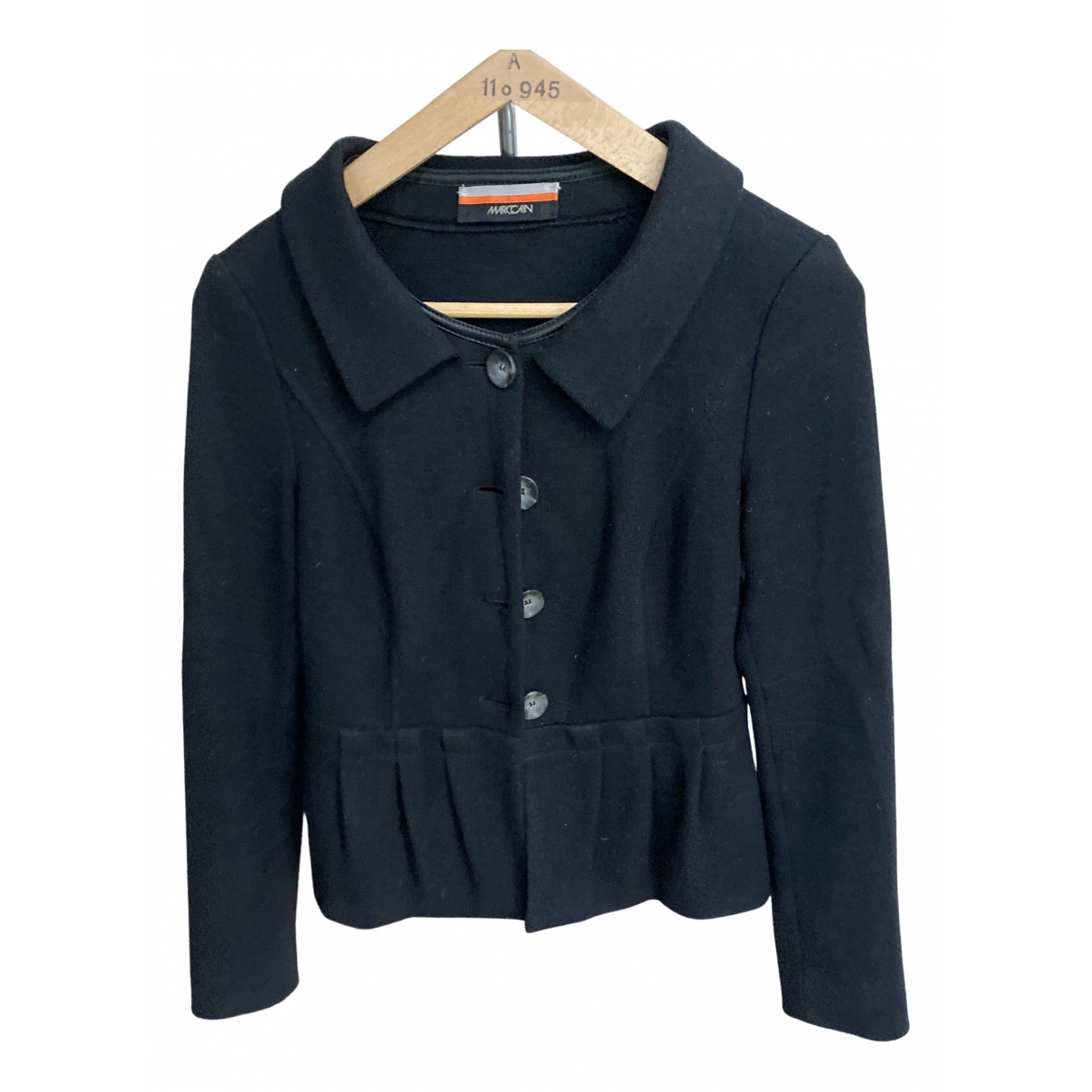 Marc Cain N Black Wool jacket for Women 2 0-5