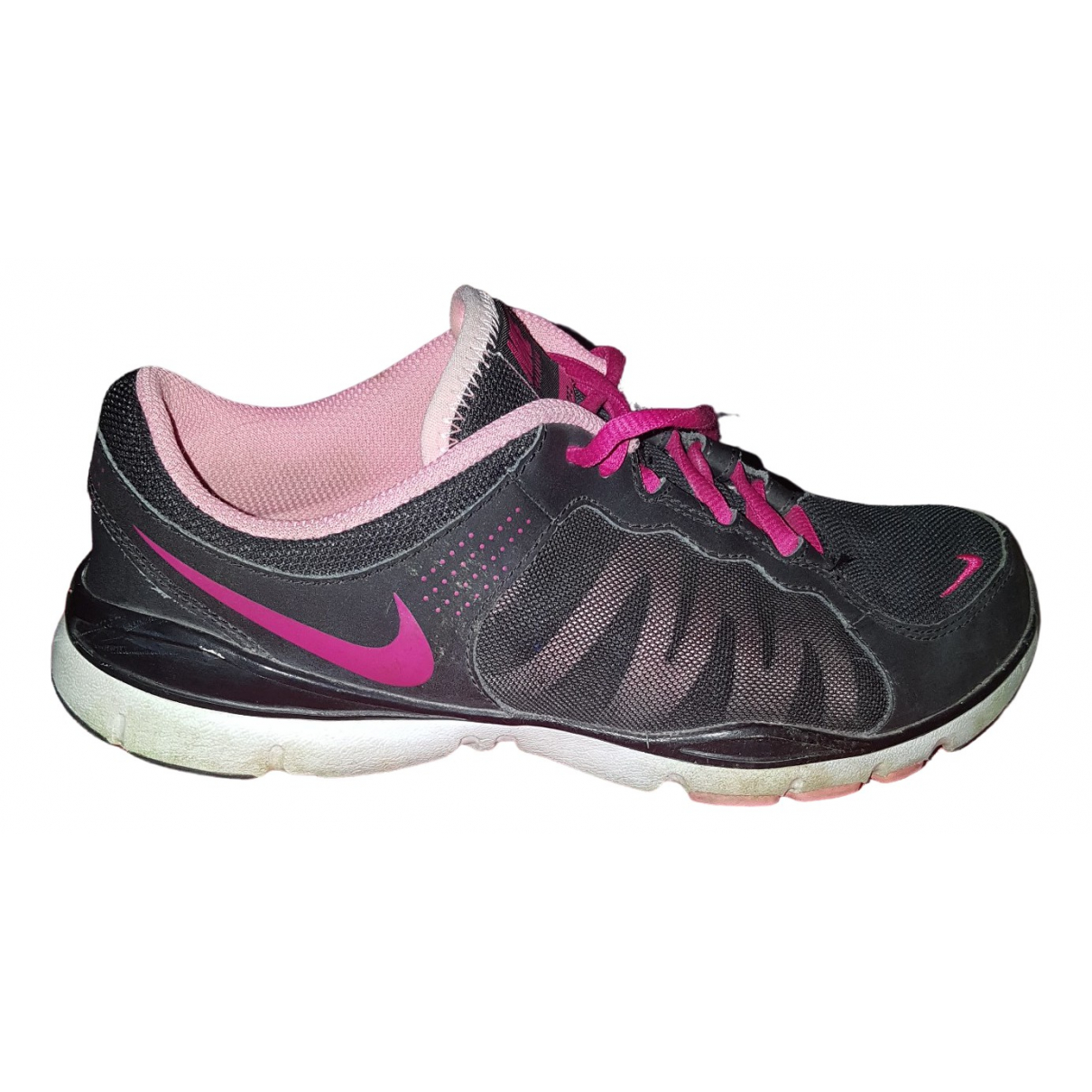 Nike \N Sneakers in  Schwarz Polyester