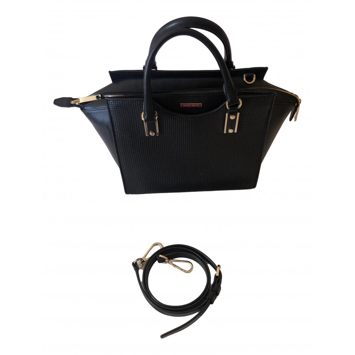 Boss \N Black Leather handbag for Women \N