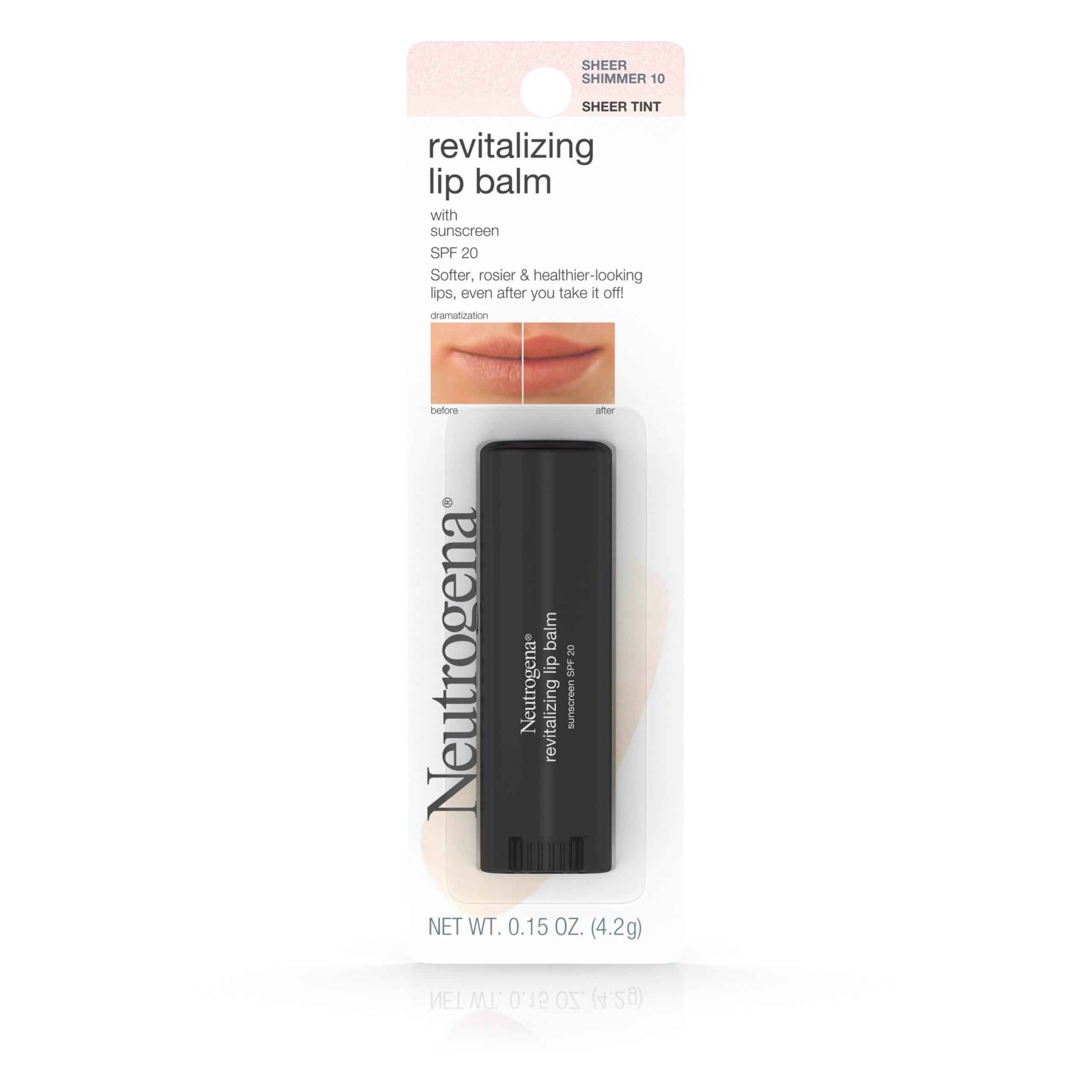 Revitalizing Lip Balm Spf 20 - Sheer Shimmer