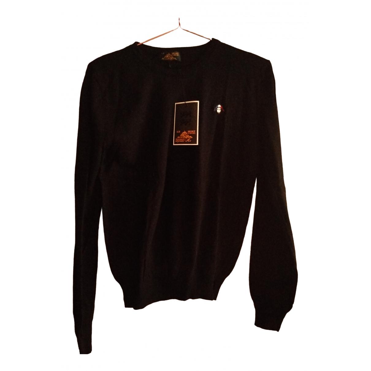 Le Mont Saint Michel \N Black Wool Knitwear for Women 38 FR