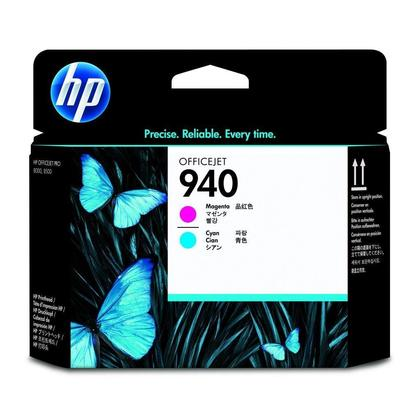 HP 940 C4901A Original Magenta and Cyan Printhead