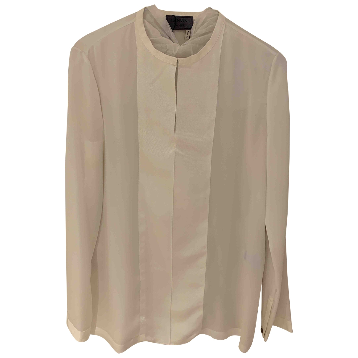 Lanvin \N White  top for Women 38 FR