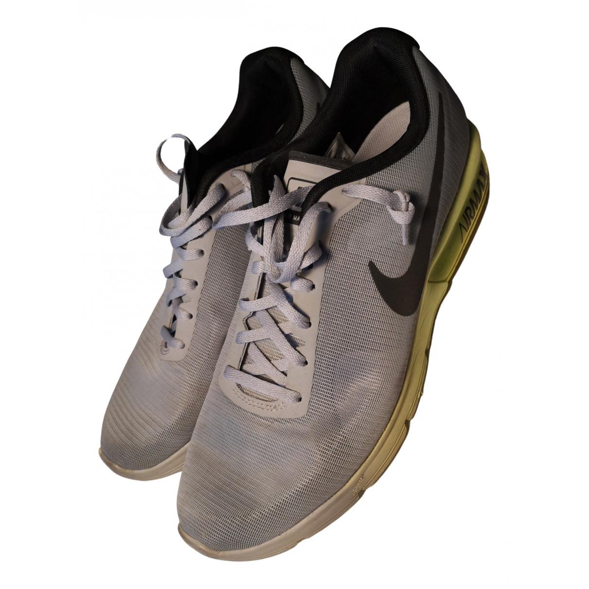 Nike \N Stiefel in  Grau Synthetik
