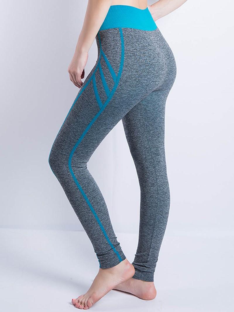 Ericdress Stripe Women's Sport Yoga Leggings