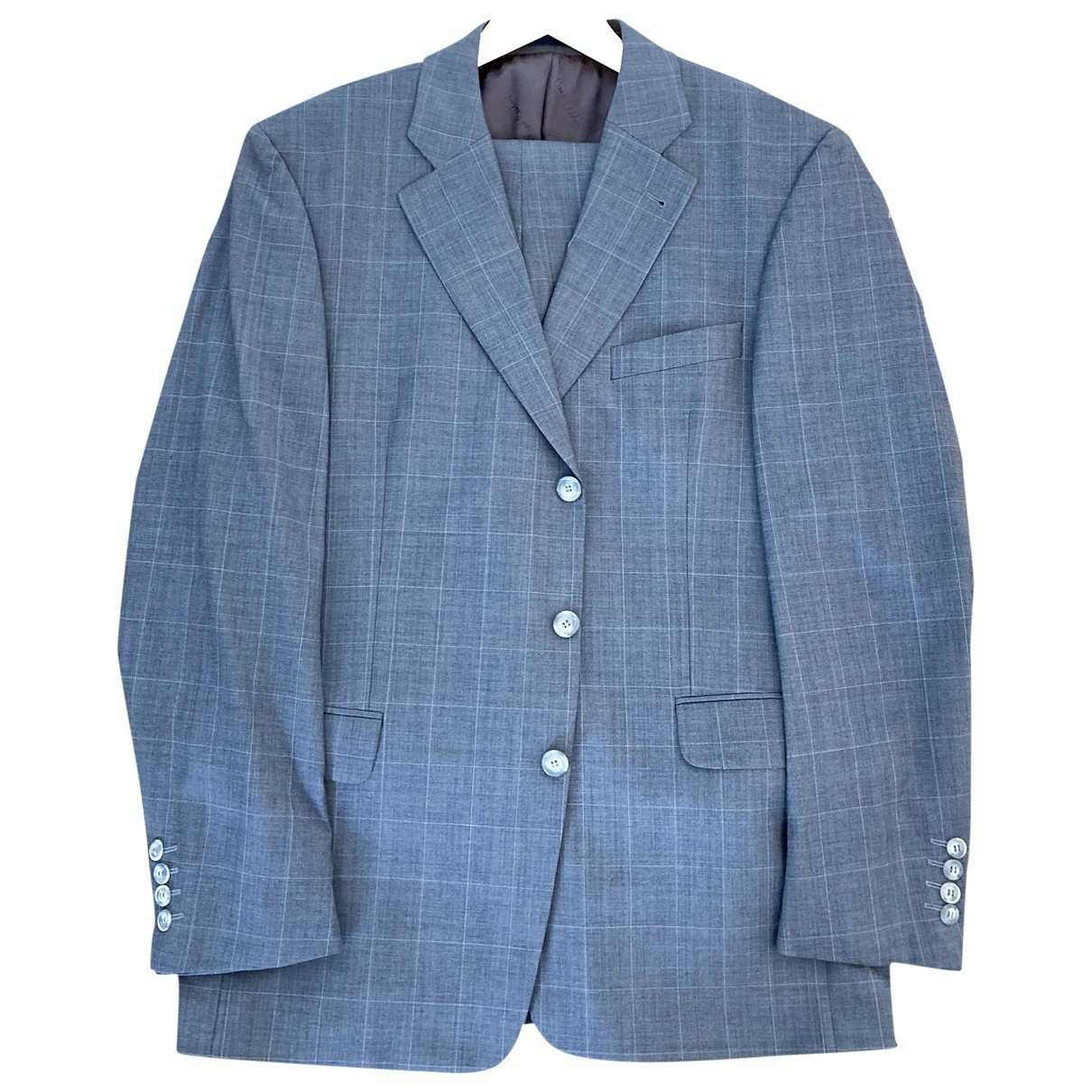 Pierre Cardin \N Grey Wool Suits for Men 52 FR