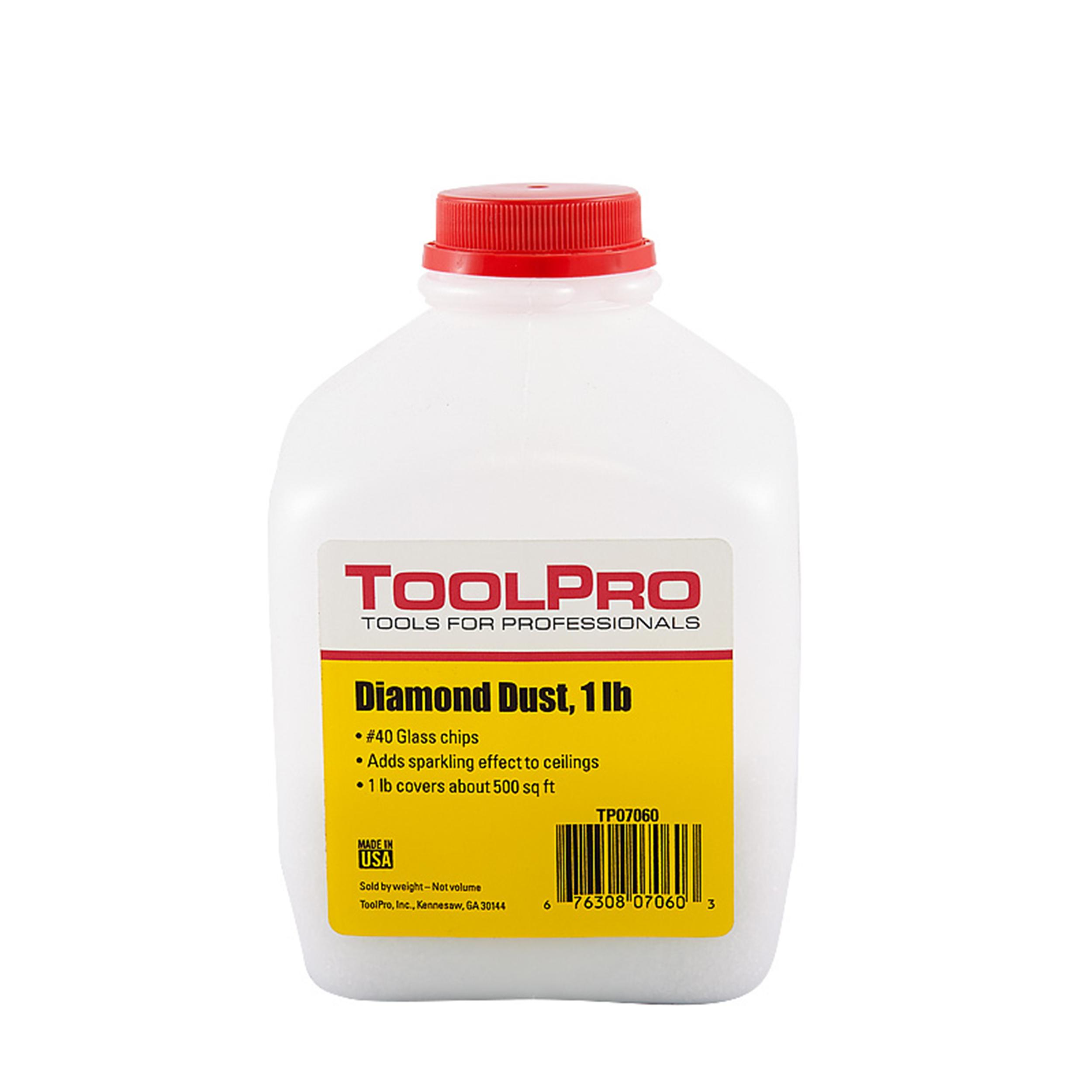 Diamond Dust Glitter, #40 (glass chips), 1 lb.
