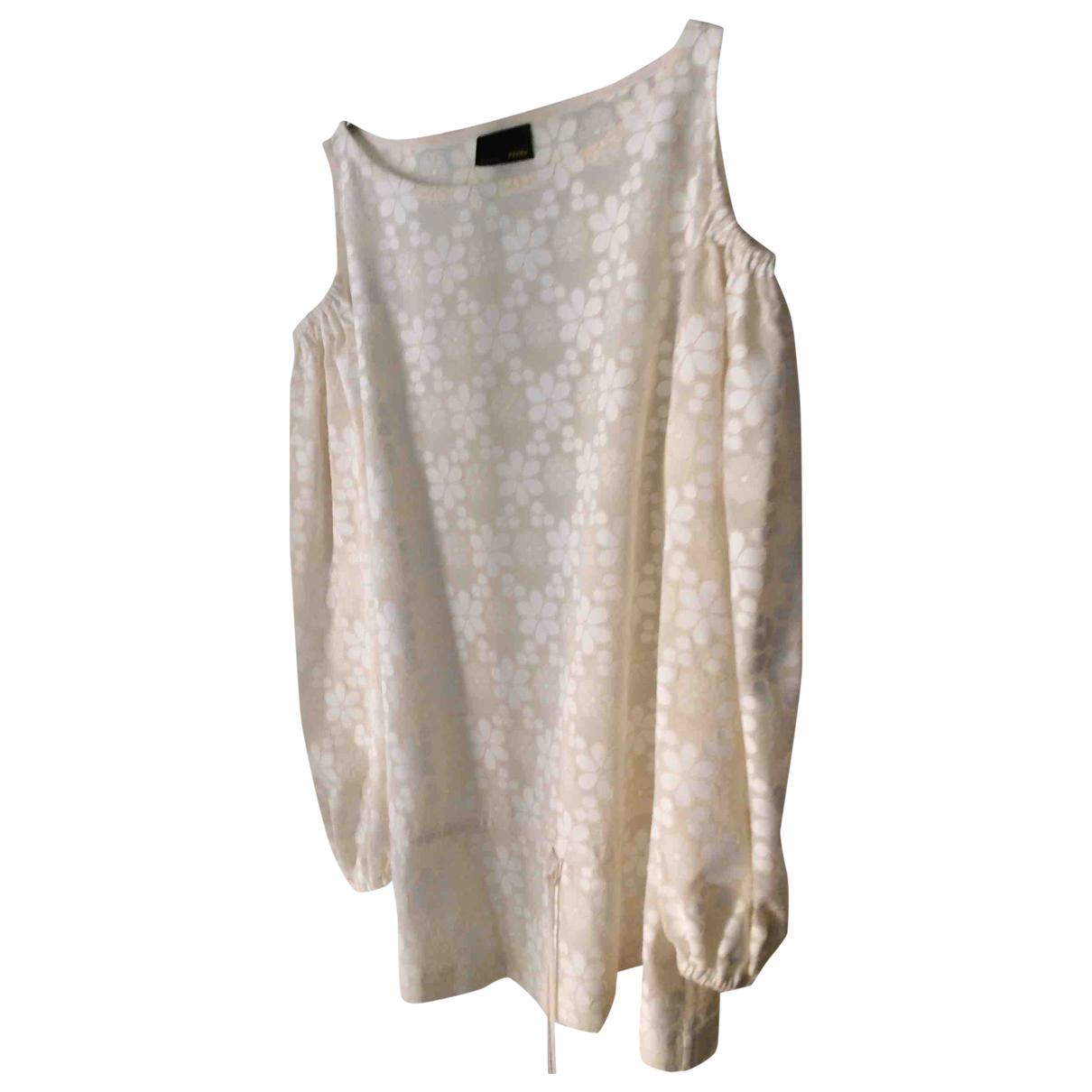 Fendi \N White Cotton  top for Women 40 IT