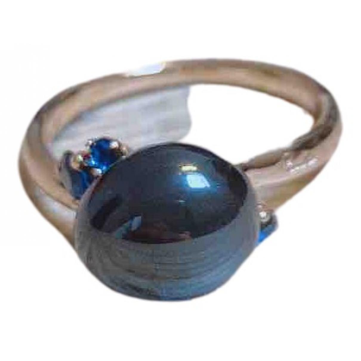Pomellato Capri Ring in  Schwarz Rosegold
