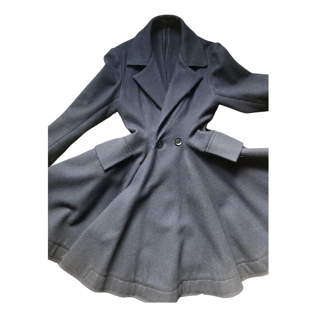 Yohji Yamamoto \N Navy Wool coat for Women 38 FR