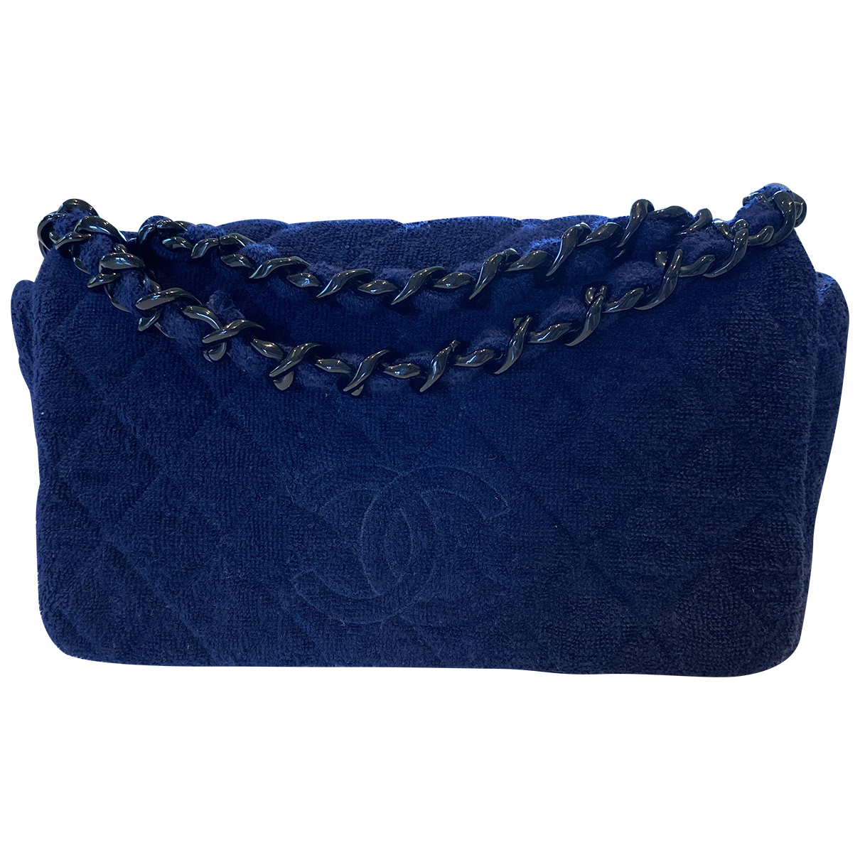 Chanel \N Blue Cotton handbag for Women \N