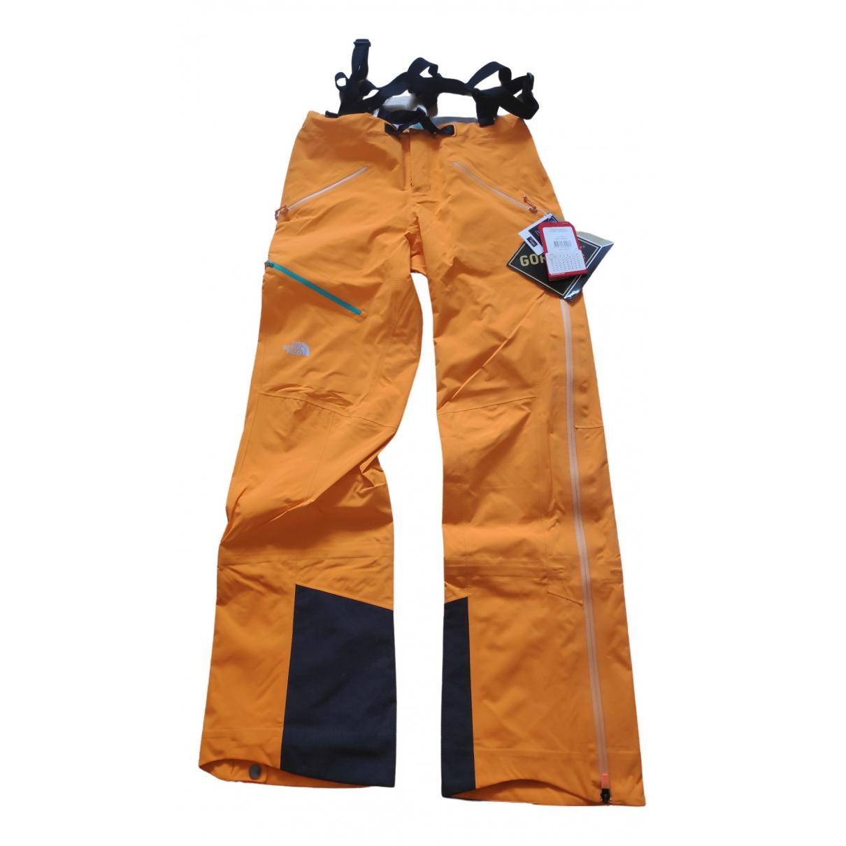 Pantalon en Sintetico Naranja The North Face
