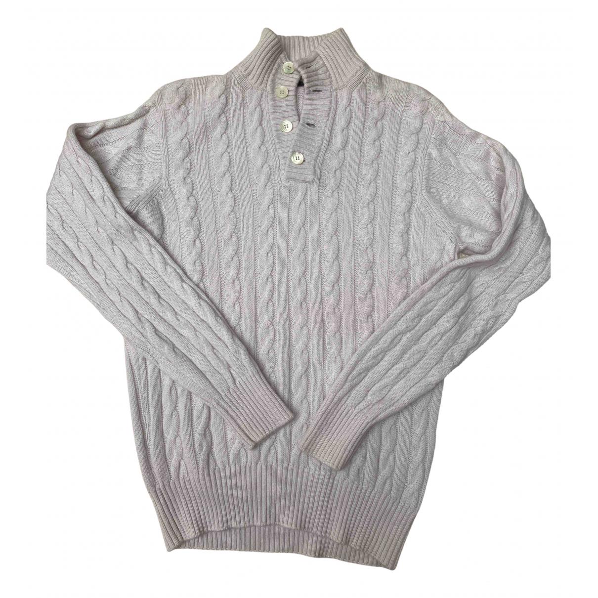 Non Signe / Unsigned \N Pullover.Westen.Sweatshirts  in  Weiss Kaschmir