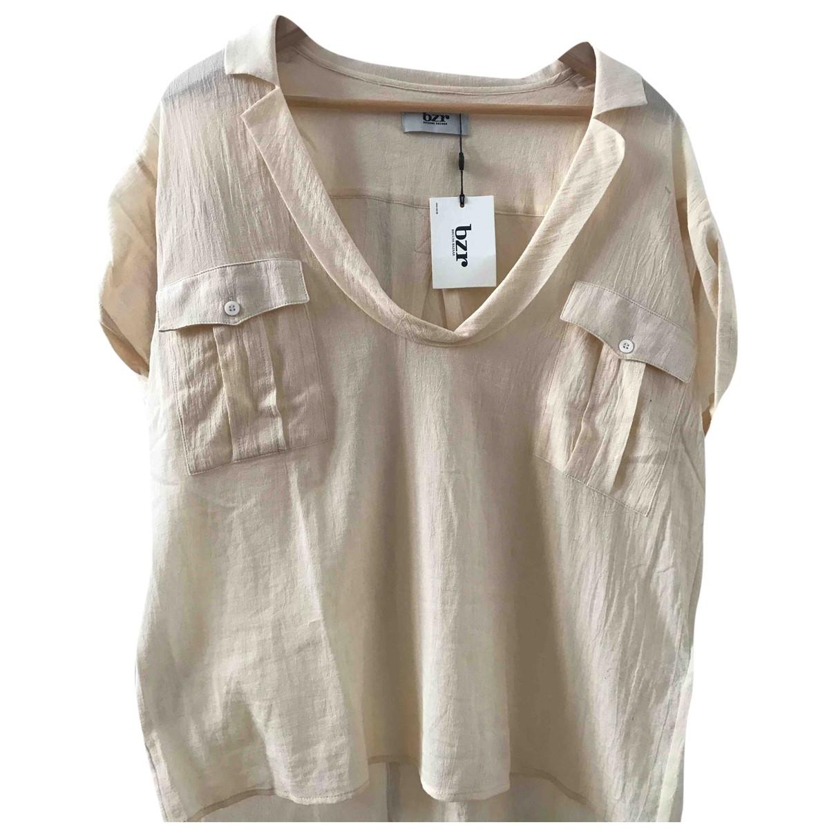 Bruuns Bazaar \N Beige Cotton  top for Women 40 FR