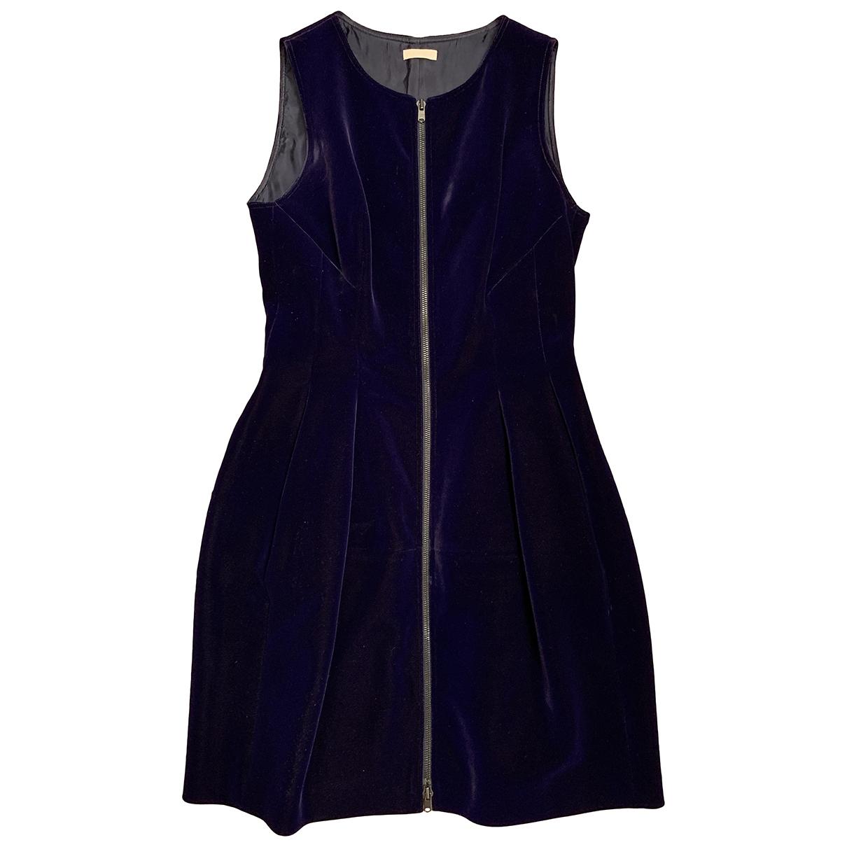 Alaia - Robe   pour femme en velours - violet