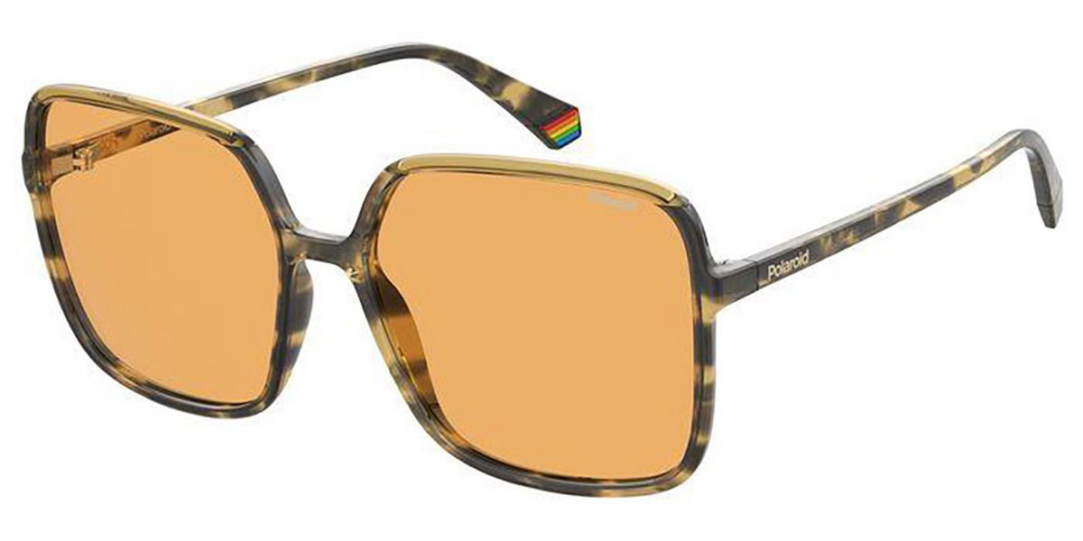 Polaroid PLD 6128/S HJV/HE Women's Sunglasses Tortoise Size 59