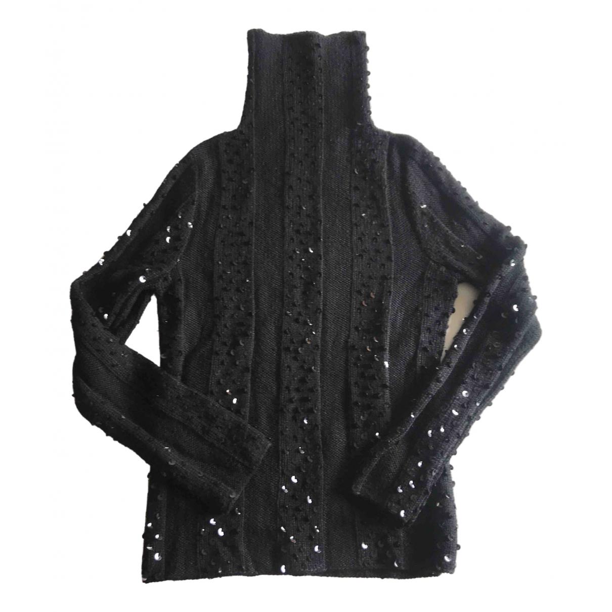 Emporio Armani \N Black Wool Knitwear & Sweatshirts for Men 50 IT