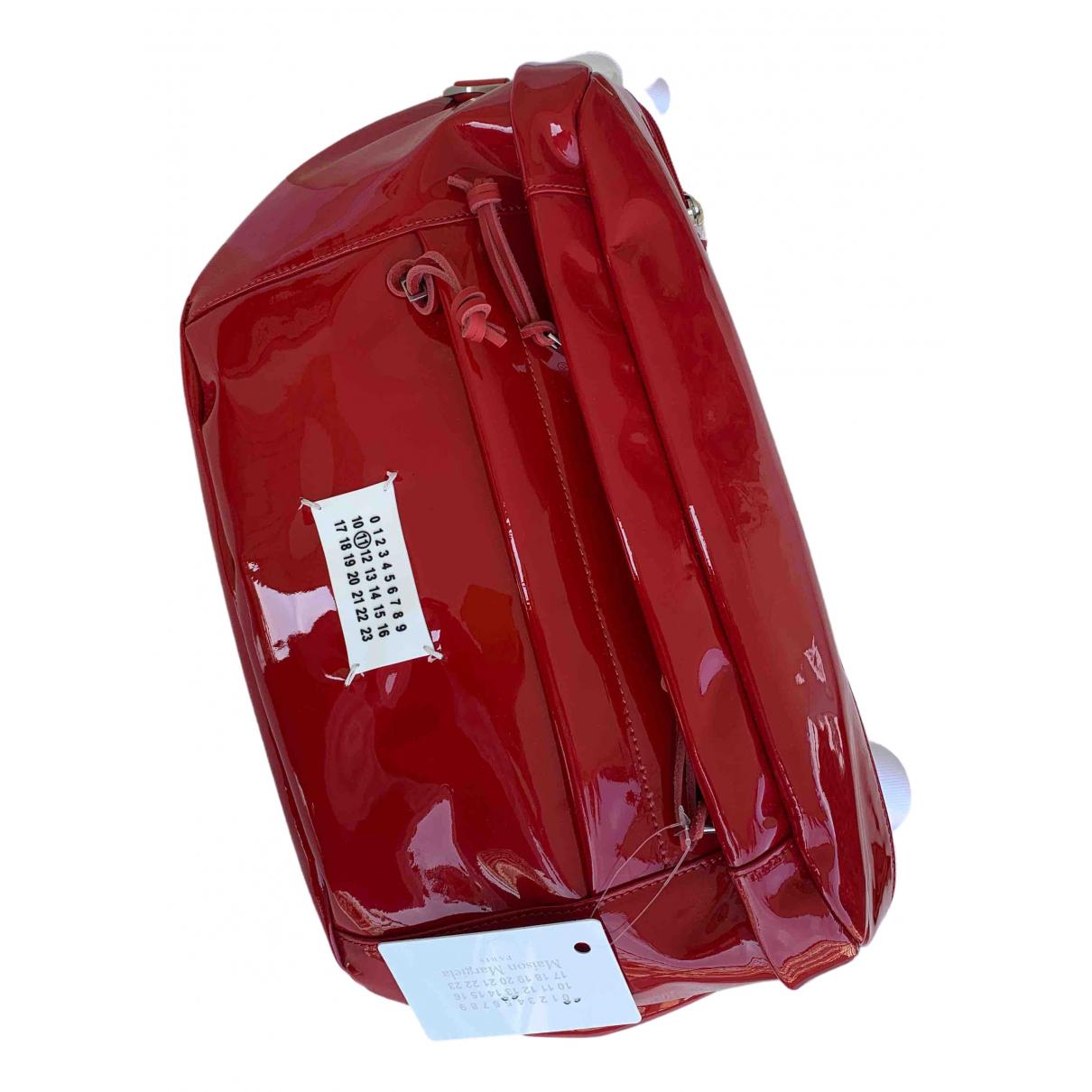 Maison Martin Margiela \N Clutch in  Rot Kunststoff
