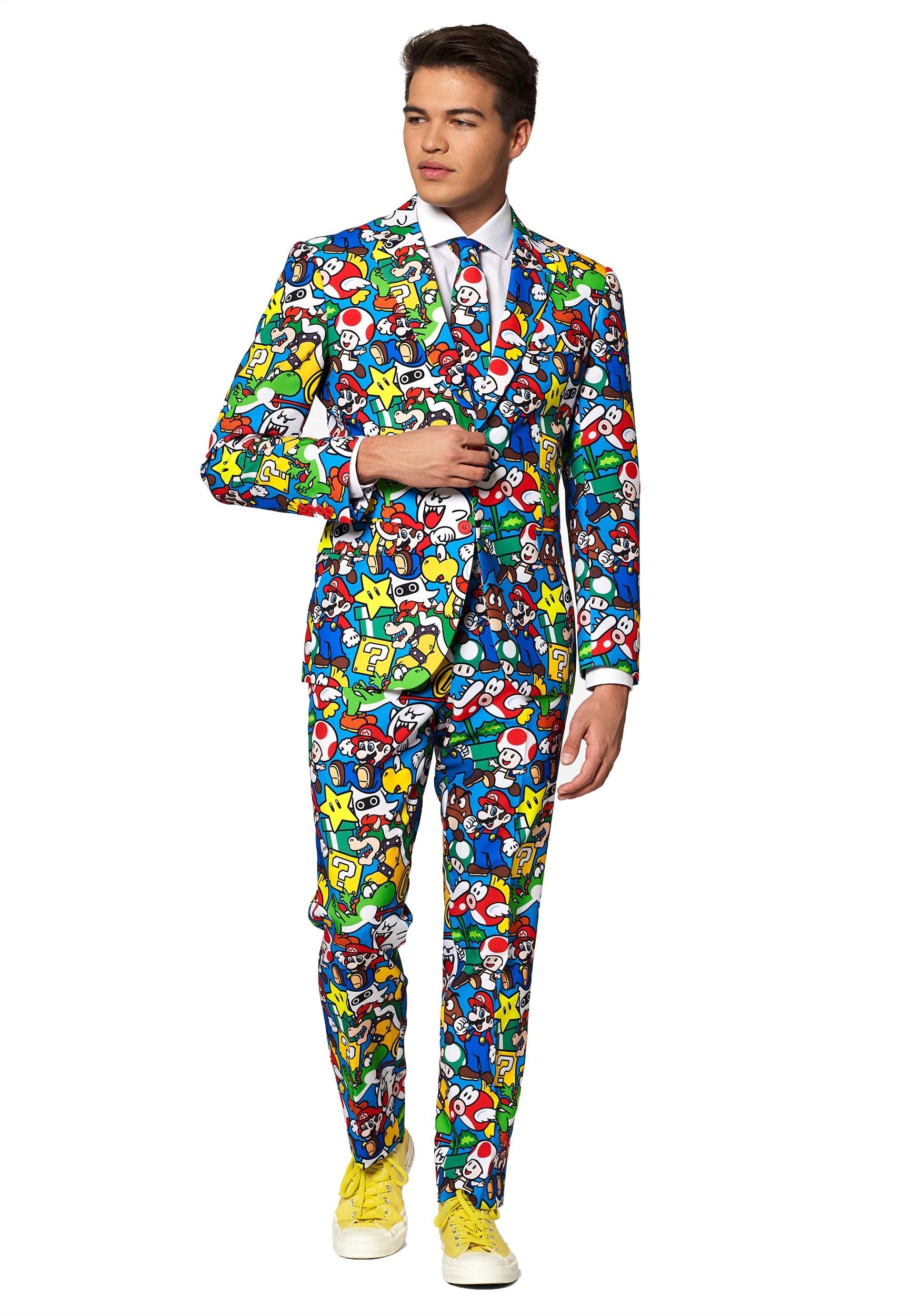 Opposuit Super Mario Suit for Men