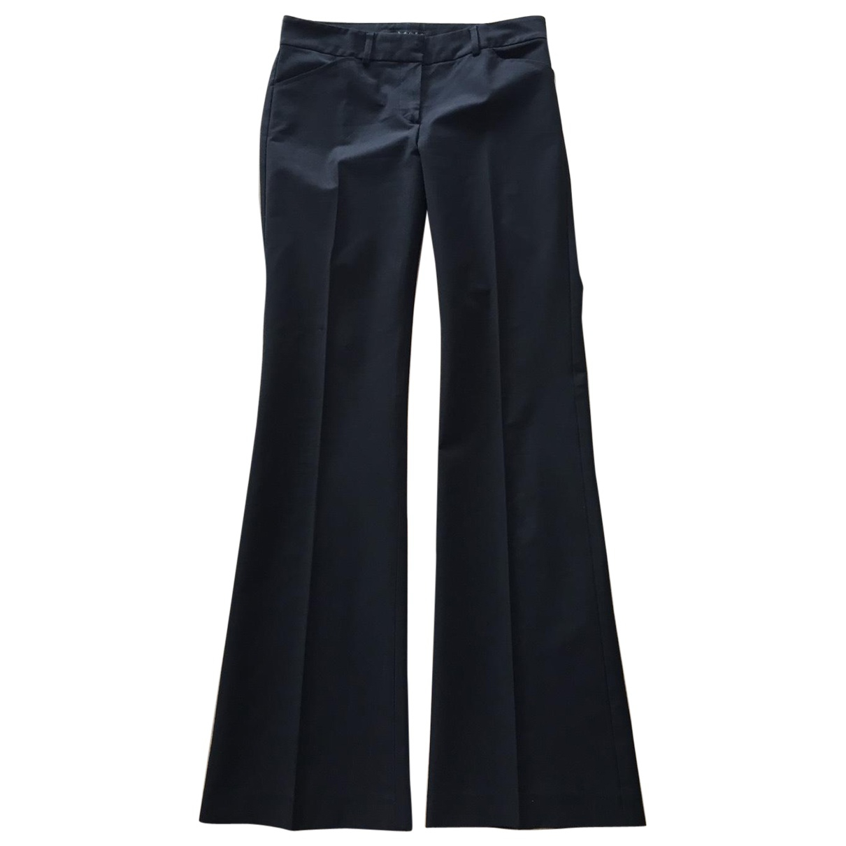 Pantalon en Sintetico Negro Theory